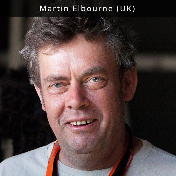 Martin Elbourne yra muzikos industrijos ekspertas iš Didžiosios Britanijos, turintis daugiau nei 40 metų profesinės patirties. Jis- buvęs įrašų kompanijos bei muzikos žurnalo savininkas, festivalio WOMAD bendrąįkūrėjas, patyręs muzikos vadybininkas, agentas, koncertų organizatorius, konsultantas, dirbęs su tokiomis grupėmis kaip New Order ir The Smiths. Martin muzikos politikos klausimais yra konsultavęs Pietų Australijos vyriausybę. Šiuo metu Martin yra vienas iš pagrindinių Glastonbury festivalio programos sudarytojų bei Braitone vykstančio The Great Escape festivalio kūrybos direktorius. Jis taip pat yra MusikThinkSki prezidentas, Indijos portalo bei festivalio NH7, Kanadoje vykstančio festivalio 'M for Montreal' bei konferencijos Music Cities Convention muzikos konsultantas. Martin muzikos klausimais patarinėja keleto šalių vyriausybėms, jis taip pat yra platformos Music Glue ir konsultacijų kompanijos Sound Diplomacy patariamosios tarybos narys, nuolatinis tarptautinių muzikos industrijos konferencijų pranešėjas.