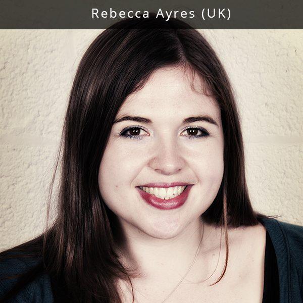 Rebecca Ayres vadovauja Sound City – vienam didžiausių JK festivalių, skirtų naujai muzikai. Šis festivalis, kuriame 23,000 fanų ir 2,000 industrijos profesionalų iš 30 skirtingų šalių akivaizdoje groja šimtai grupių, pasižymi kontoversiškais debatais, ypatingomis tinklaveikos galimybėmis, išskirtine muzika ir menais. Jis vyksta legendiniame muzikos mieste Liverpulyje ir trunka tris dienas ir naktis. Rebecca rūpinasi jaunųjų muzikos talentų sėkme – viena iš jos mėgstamiausių darbo dalių yra festivalio tarptautinės ir kylančių grupių programos dalies sudarymas, taip pat ir festivaliams Sound City Korea ir New York Sound City. Ji taip pat vadovauja Sound City Entrepreneur Training programai, kuri skirta visiems, norintiems dirbti muzikos industrijoje. Rebecca yra ir PRS Foundation for the Momentum bei Women Make Music fondų patarėja. Daugiau informacijos: www.liverpoolsoundcity.co.uk