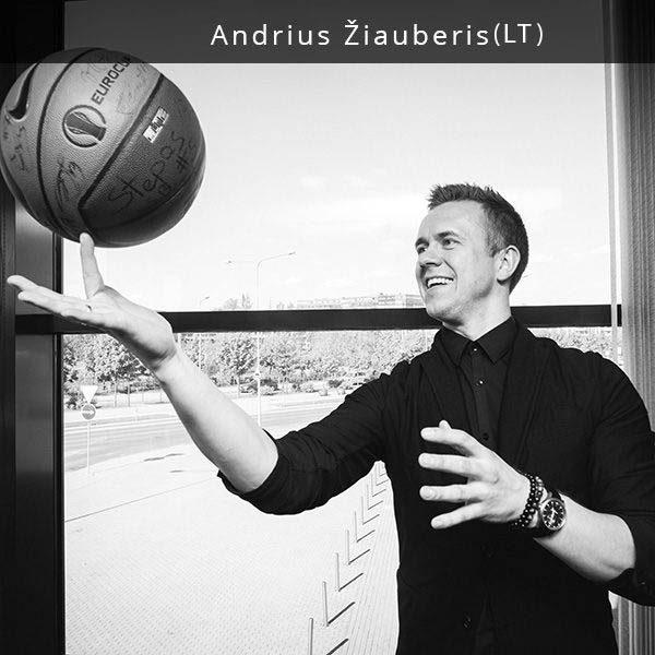 """Andrius Žiauberis yra didžiausio Lietuvoje bilietų platintojo """"Tiketa"""", o nuo šių metų balandžio ir pagrindinės sostinės - """"Siemens"""" arenos - vadovas. Andrius nuolat ieško ir randa naujus būdus, kaip sudominti žmones ir pakviesti juos į renginius. Tai leido """"Tiketai"""" tapti inovatyviausia bilietų platinimo kompanija Lietuvoje. Per beveik 10 metų pramogų versle Andrius prisidėjo prie svarbiausių Lietuvoje vykusių renginių. Tarp jų - didžiausio Lietuvos istorijoje sporto įvykio Eurobasket 2011, įvairių sporto šakų čempionatų, LKL, LKF švenčių bei aukščiausio lygio atlikėjų pasirodymų. Žmonės kalba, kad Andrius yra vienas iš daugiausiai Lietuvos ir užsienio žvaigdžių rankų paspaudusių žmonių Lietuvoje."""