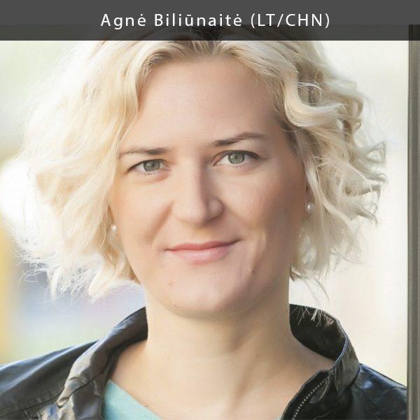 """Nuo 2015 m. Agnė Biliūnaitė yra Lietuvos kultūros atašė Kinijoje ir Pietų Korėjoje. Anksčiau ji yra dirbusi šokio kritike, nacionalinio projekto """"Kūrybinės partnerystės"""" kūrybinių praktikų vadove, prodiuserio asistente Lietuvos nacionaliniame operos ir baleto teatre."""